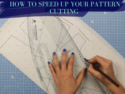 how to speed up your pattern cutting